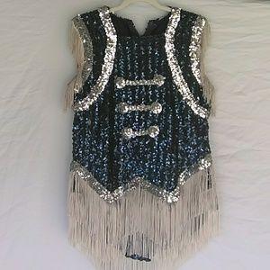 Vintage Sequin Majorette Uniform